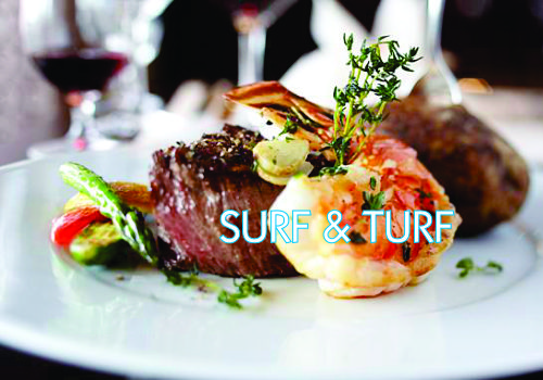 Recipe of the Week:  Surf and Turf