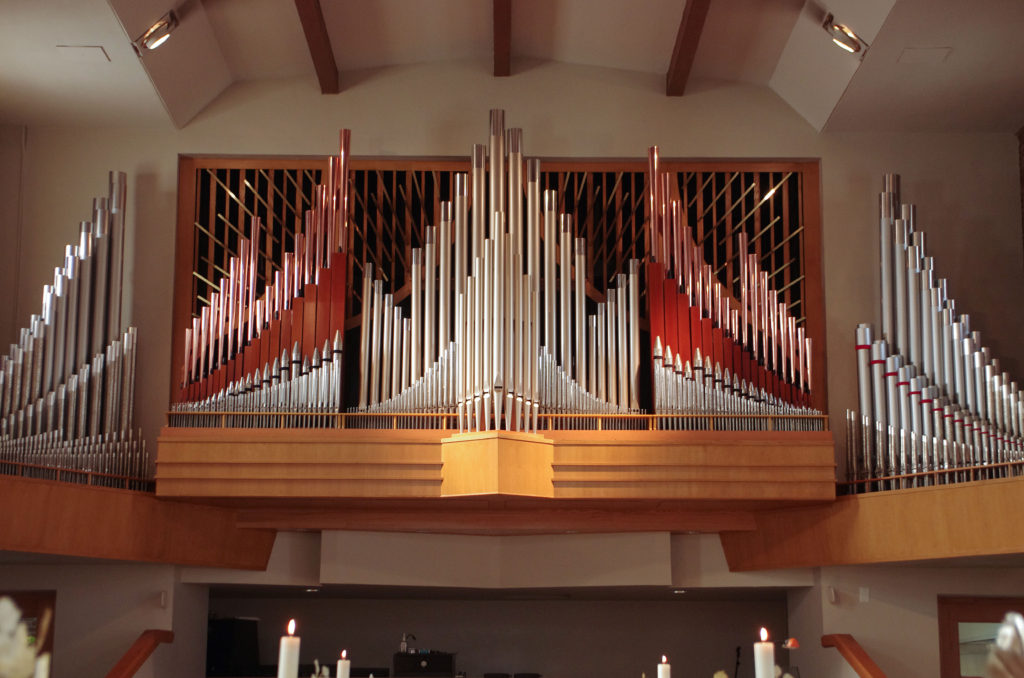 Quimby Pipe Organ at the Mission Campus