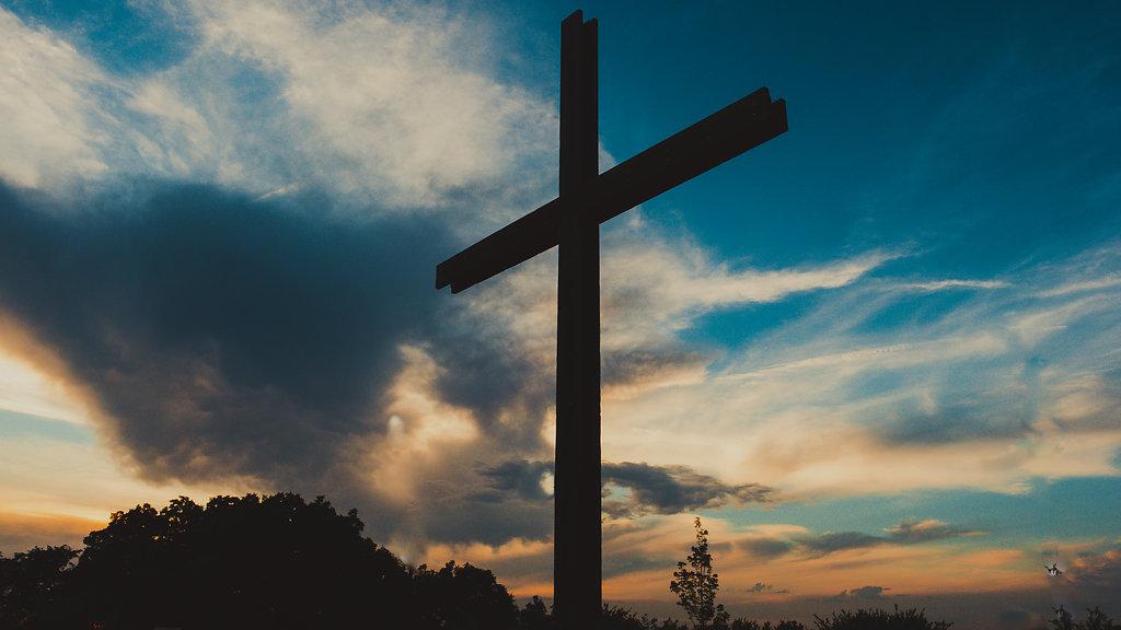 Shawnee Cross at Sunrise