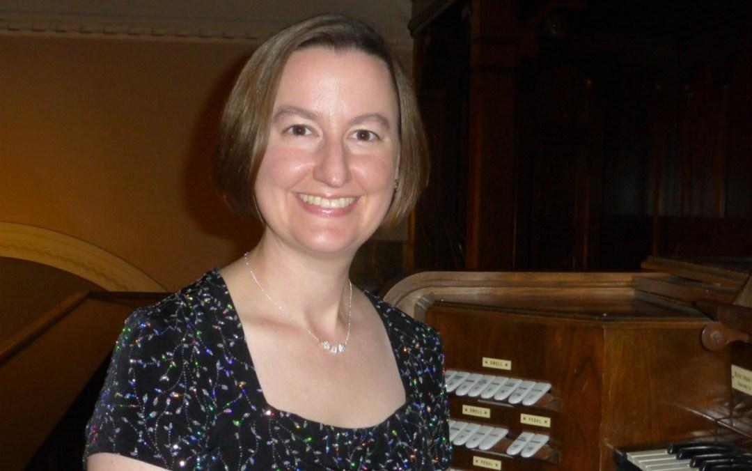 Dr. Lara West, Organist