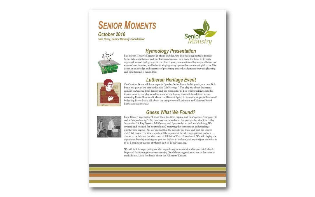 Senior Moments October 2016
