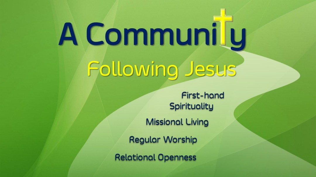 A Community Following Jesus Four-fold Emphasis