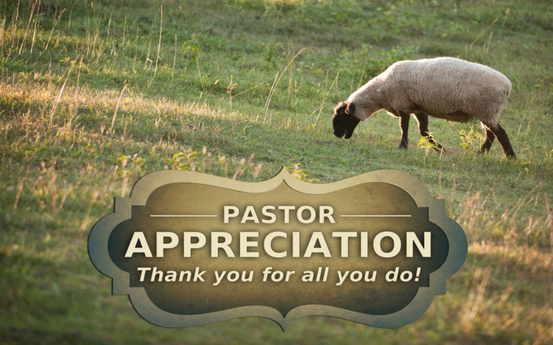 October is Pastor Appreciation Month!