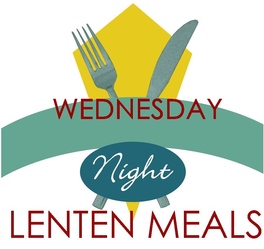 Wednesday Night Lenten Meals