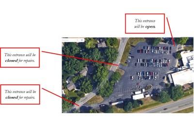 Mission Campus Parking Repairs – New Dates