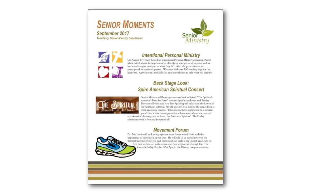 September Senior Moments