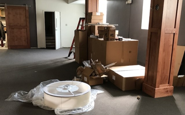 Fellowship Hall Renovation Update – September 13