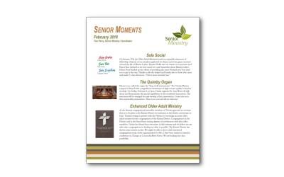 February Senior Moments Newsletter