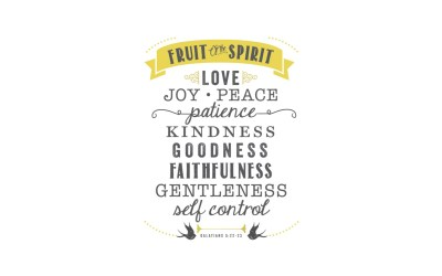 """New Class: """"A Deeper Look at the Fruit of the Spirit"""""""