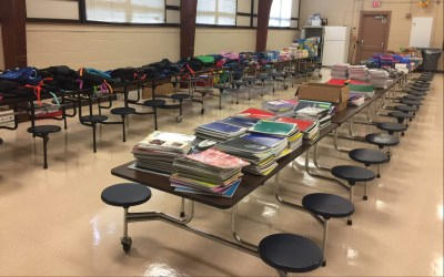 Rushton School Supply Drive Thank You