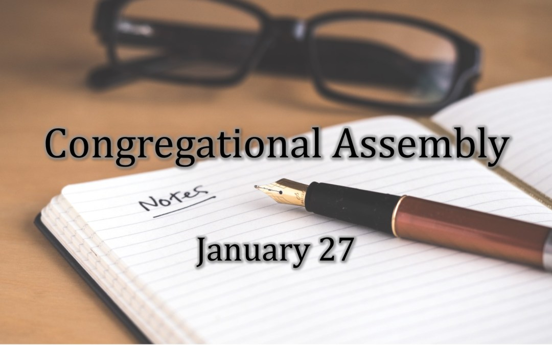 January  Congregational  Assembly