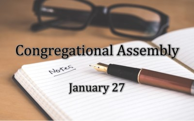 January 27 Congregational Assembly