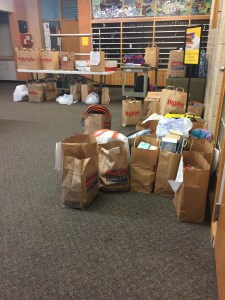 Food Drive for Rushton