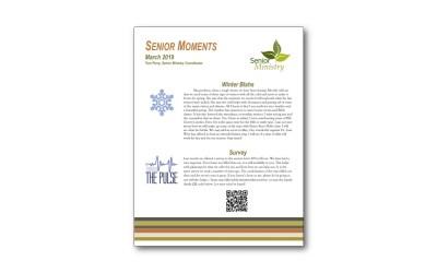 March Senior Moments Newsletter