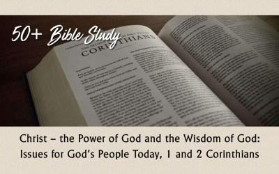50+ Bible Study – 1 & 2 Corinthians