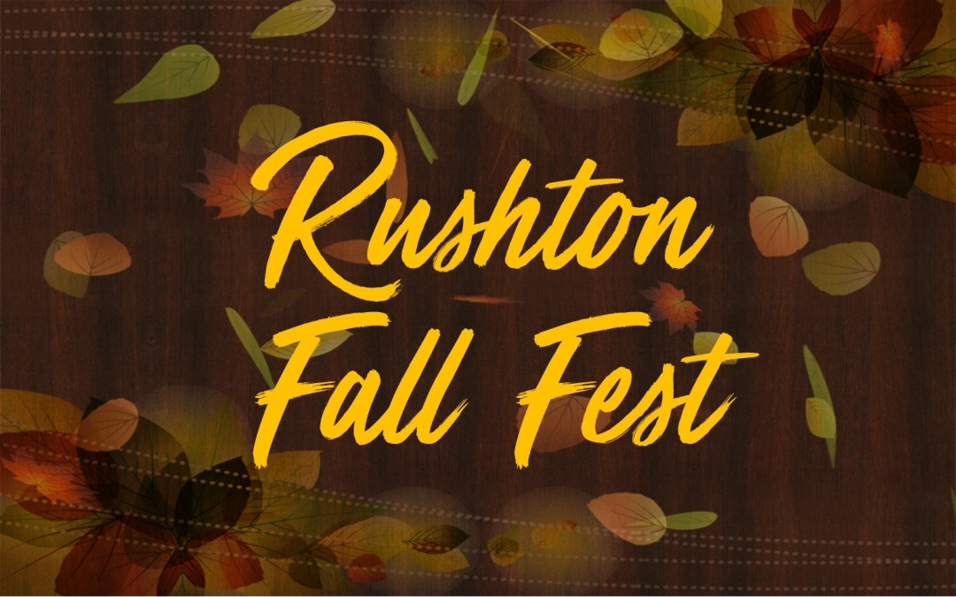Rushton Fall Fest – Still Needed