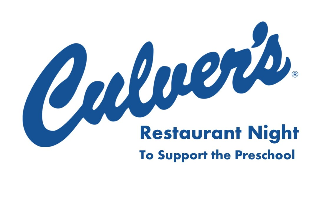 Thank You! – Culver's Restaurant Night Support