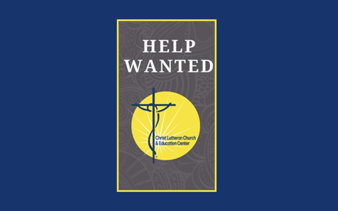 Christ Lutheran Church Hiring