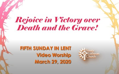 Sunday Worship – March 29