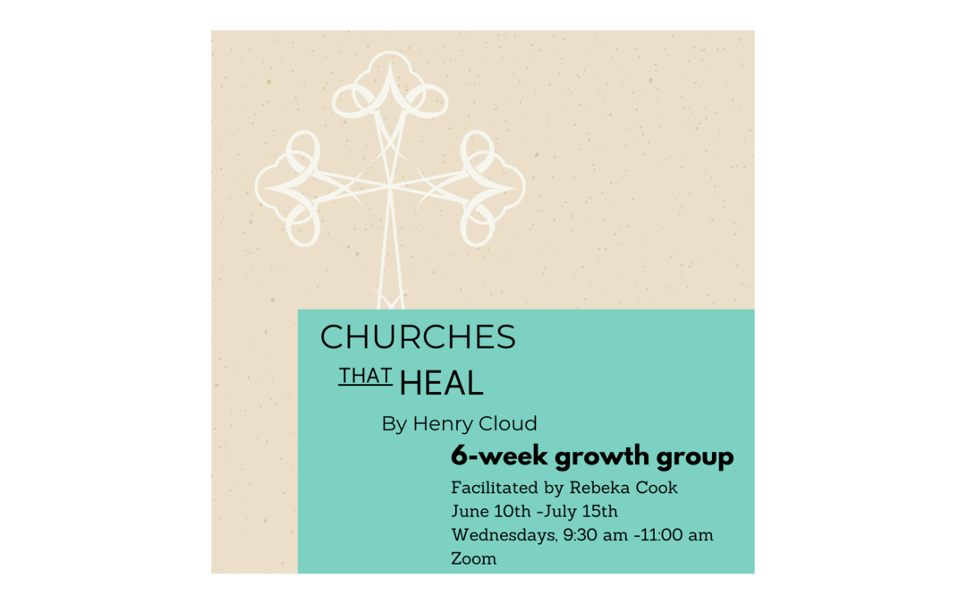 New Study: Churches that Heal