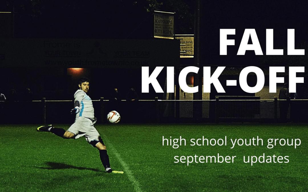 Fall Kick-Off
