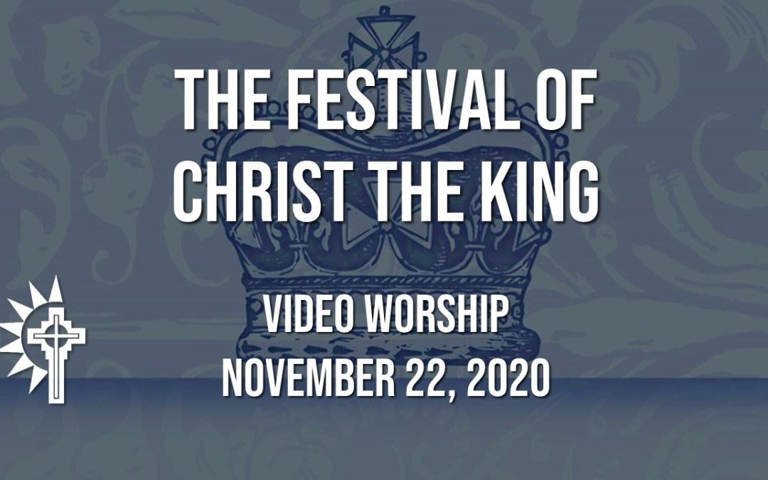 Sunday Worship – November 22