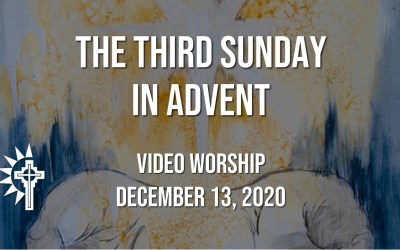 Sunday Worship – December 13