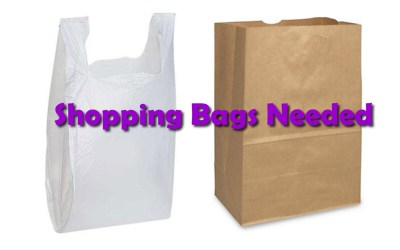 Shopping Bags Needed