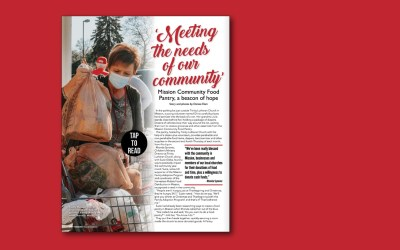 Pantry Featured in Mission Magazine