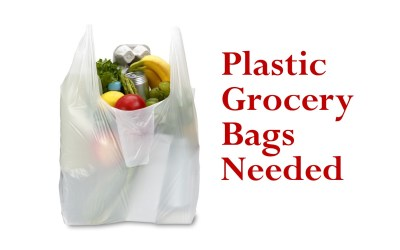 Plastic Grocery Bags Needed