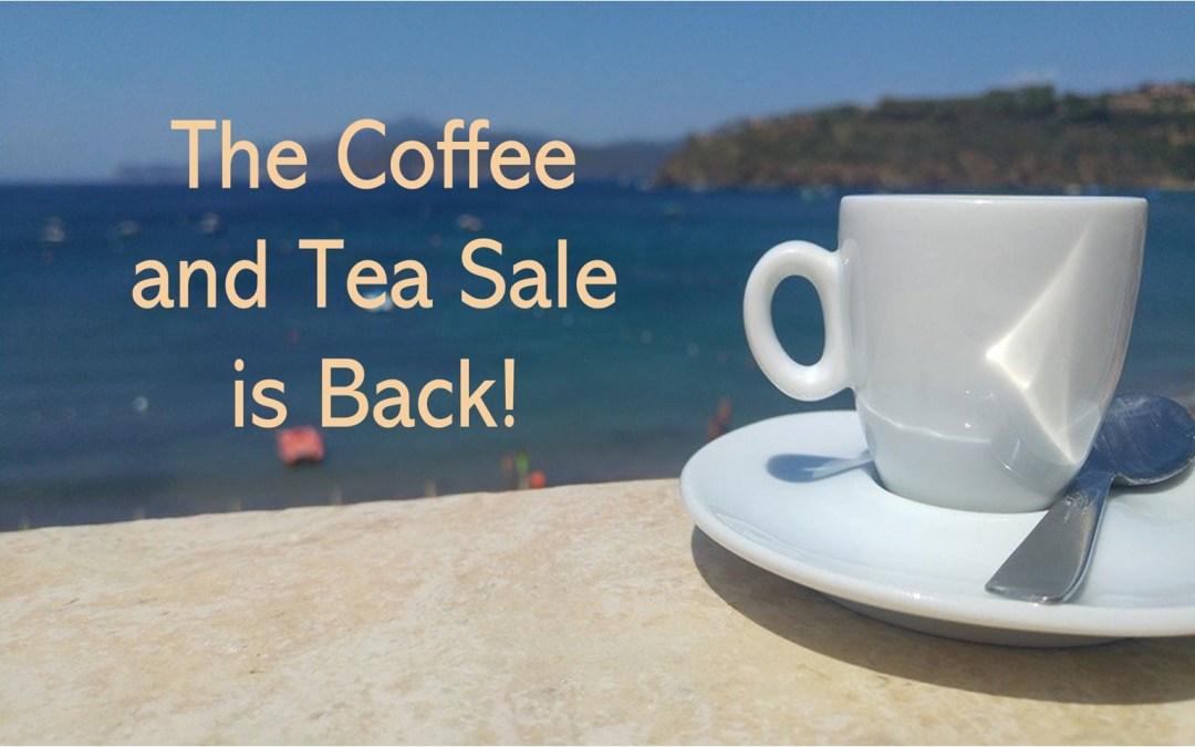 LWML Coffee and Tea Sale