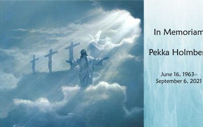Memorial Service Livestream for Pekka Holmberg