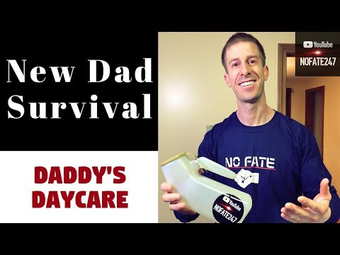 New Dad Must Have Daddy's Daycare Tips - TLCSchools Plano TX uploaded to TLCSchools.com Texas