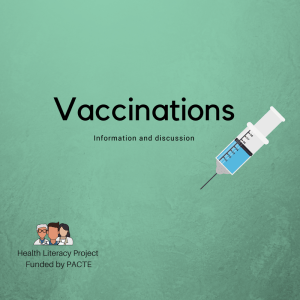 Vaccinations: A Discussion Part 2