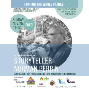 Storyteller Norman Perrin Library Session