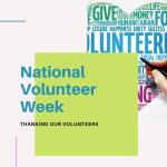 National Volunteer Week 2021