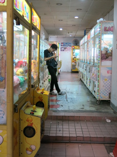 These arcades are everywhere, but I've never seen anyone playing in them.