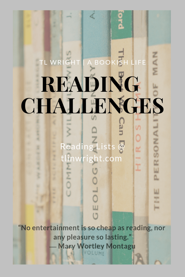 TL Wright | A Bookish Life Reading Challenges
