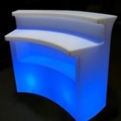 2 bars lumineux slide
