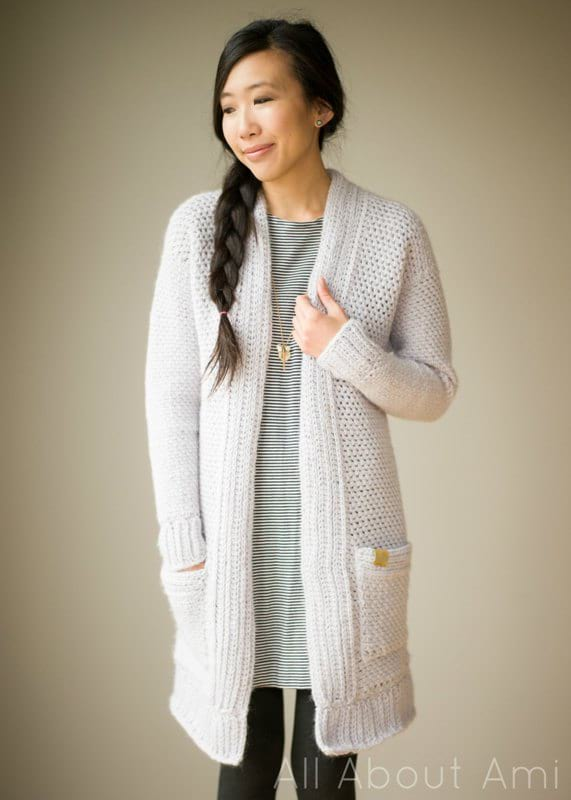All About Ami Granite Cardigan