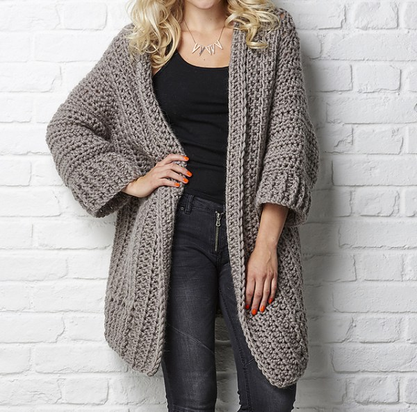 Big Chill Cardigan Simone Francis for Simply Crochet