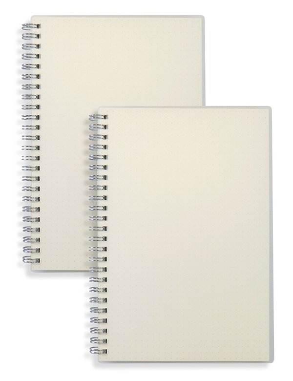 11 Essential Crochet Tools Dot Grid Spiral Bound Notebooks
