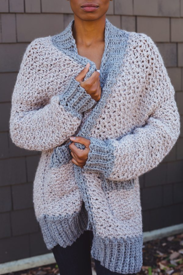Veronica Cardi Cardigan tl yarn crafts