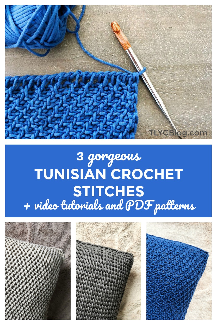 tunisian crochet video tutorial tunisian simple stitch full stitch honeycomb stitch patterns youtube tlyarncrafts tl yarn crafts