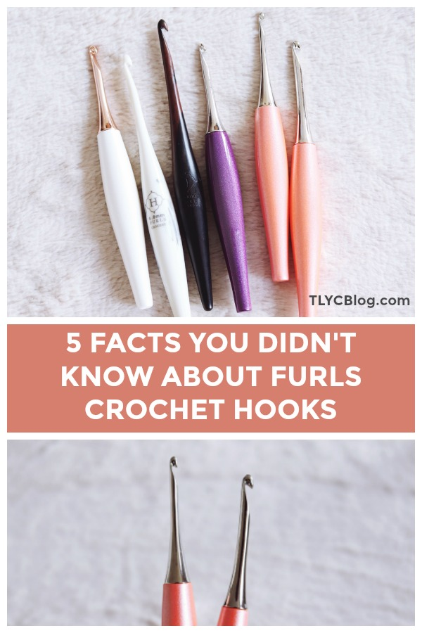 5 Facts You Didn't Know About Furls Crochet Hooks | Learn more about Furls Odyssey crochet hooks and try the new Peach collection. | TLYCBlog.com