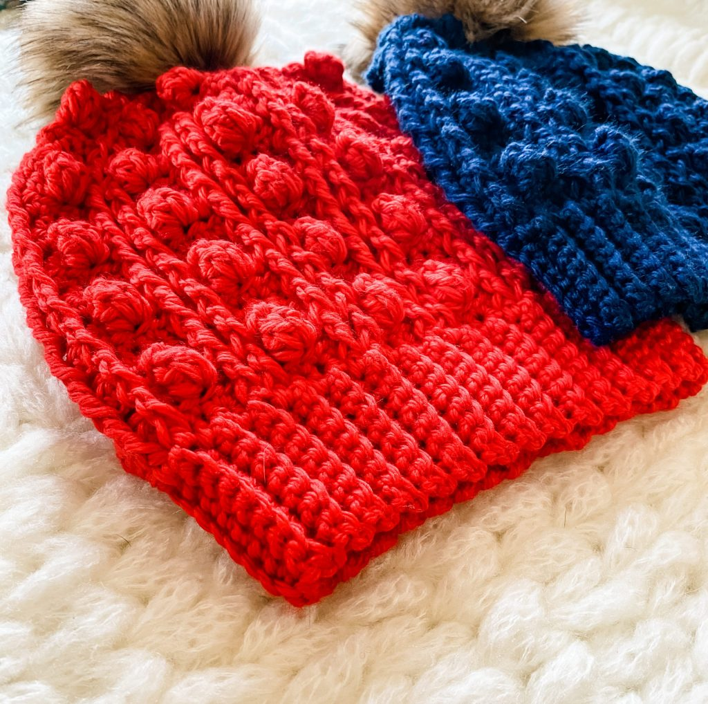 Drexel Beanie   Free crochet hat pattern for men and women, this easy, chunky crochet pattern is beginner friendly and comes with step-by-step instructions. Try this slouchy crochet beanie pattern, made from WeCrochet Mighty Stitch Bulky weight yarn.   TLYCBlog.com