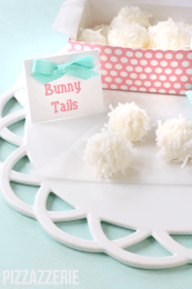 Easter Countdown day 5 – bunny tail truffles, egg dying + more