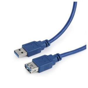 Gembird CCP-USB3-AMAF-6 kabel przedłużacz USB 3.0 1.8m