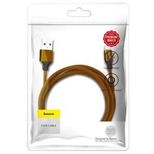 Kabel Baseus Yiven Micro USB 150cm 2A BRĄZOWY