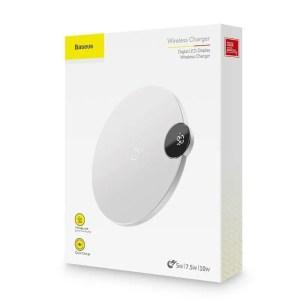 Bezprzewodowa ładowarka indukcyjna Baseus Wireless Charger 10W BIAŁA